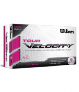 WILSON LADIES VELOCITY (15 BALL PACK)